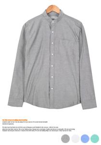 베이직 옥스포드 차이나셔츠