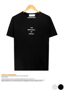 위트있는 베니스 프린팅 반팔티셔츠