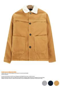 캐주얼룩에 제격인 양털 모직자켓